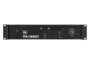 Electro-Voice PA1250T120V PA Series Amplifier (1x 270W/70V/2RU)