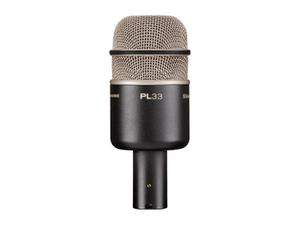Electro-Voice PL33 Kick drum microphone/Dynamic/Supercardioid/20-10000Hz