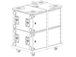 Electro-Voice X12128DOLLY Dolly for X12-128 NON-Flying Subwoofers