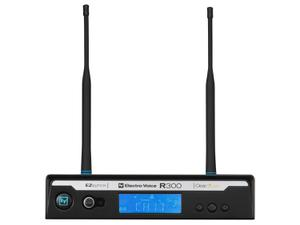 Electro-Voice R300RXC R300 Series Wireless Extender (Receiver) and Case Only C-Band (516-532 MHz)