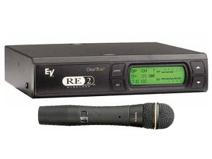Electro-Voice RE2N7CG RE2 Series Wireless Condenser Cardioid N/D 767 Handheld System G-Band (614-642 MHz)