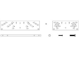 Electro-Voice HRK1W Horizontal Rigging Kit for EVF/White