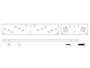 Electro-Voice VRK3W Vertical Rigging Kit for EVH/White