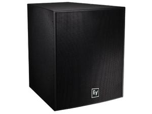 Electro-Voice EVF1181SPIB 18 inch 400W Front‑Loaded Subwoofer/Bi-Amp Only/Evcoat/Pi-Weatherized/Black