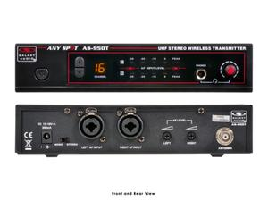 Galaxy Audio AS-950T Wireless In-Ear Personal Monitor Extender (Transmitter)/50Hz-15kHz