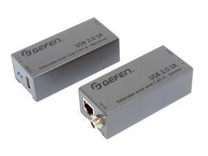Gefen EXT-USB2.0-SR USB 2.0 SR Extender (Transmitter/Receiver) Set over one CAT-5 Cable
