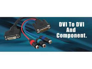 Gefen ADA-DVI-2-DVICMP DVI to DVI and Component Adapter