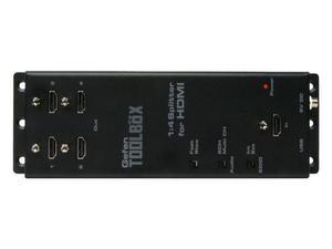 Gefen GTB-HDFST-144-BLK GefenToolBox 1:4 Splitter for HDMI with FST and 3DTV (Black)