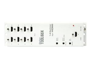 Gefen GTB-HDFST-148 GefenToolBox 1:8 Splitter for HDMI with FST and 3DTV (White)