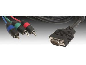 Gefen CAB-VGA-2-CMP06 6ft VGA Male to Component Male Cable