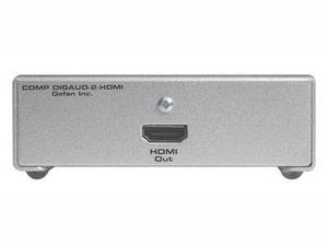 Gefen EXT-COMPAUD-2-HDMID COMPONENT VIDEO   OPTICAL TO HDMI CONVERTER
