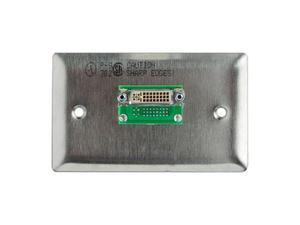 Gefen WP-DVI-I DVI Wall Plate - Ivory