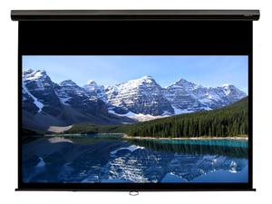 Grandview CB-P123(16:10)WM5(SSB) 123 inch Cyber Manual Screen with Slow Retraction (Black)