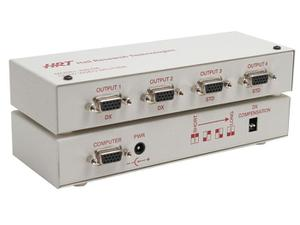 Hall Research 400DX Quad (1 x 4) VGA Splitter/Amplifier with long cable compensation to 600 ft