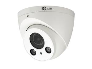 ICRealtime AVS-5MD5123-VIR-DP-M 5MP HDAVS Indoor/Outdoor Eyeball Dome Camera/2.7-12mm Motorized Lens/197ft Smart IR/Mic