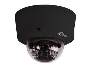ICRealtime ICIP-D2000VIR-B-D 2 Megapixel Indoor/Outdoor Full-Size IR Dome IP Camera/3-9mm motorized Lens