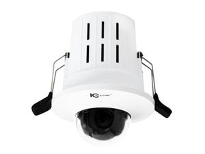 ICRealtime ICIP-D2022-28-C 2MP IP Indoor Recessed Mount Starlight Dome Camera/2.8mm/Built-In Mic/PoE