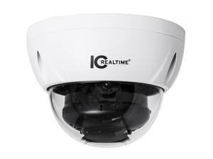 ICRealtime ICR-D2001-IR 2MP IP Indoor/Outdoor Small Size Vandal Dome Camera with 3.6mm Lens/98ft IR/PoE