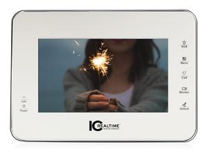 ICRealtime IH-D7711Z 7 Inch Video Intercom Indoor Panel LED Touch Screen/White
