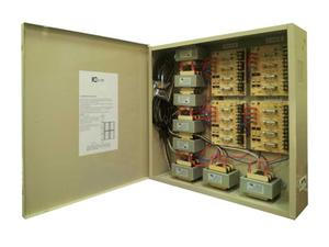 ICRealtime PWR-16AC-32A 16 Channel Fused Power Distribution Box/24Vac/32 Amps