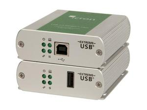 Icron 2301 USB 2.0 Ranger single port Extender (Transmitter/Receiver) Set CAT 5e/6/7 100m