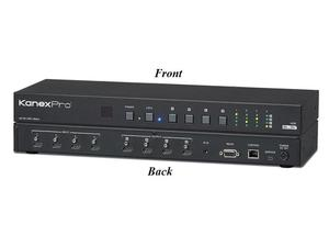 KanexPro HDMX44-18G 4x4 HDMI 2.0 Matrix Switcher with 4K/60Hz
