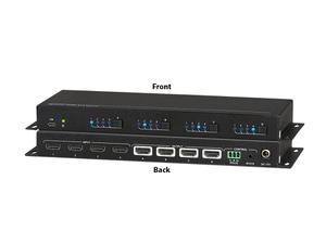 KanexPro SW-HDMX44CE 4x4 HDMI 4K/60 Matrix Switcher
