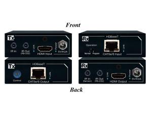 Key Digital KD-X200ProK HDBaseT/HDMI via Single CAT5e/6 Extender (Transmitter/Receiver) Kit with 4K