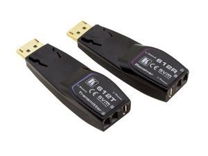 Kramer 612R/T 4K60 4:4:4 DP Transmitter/Receiver over Extended-Reach MM Fiber Optic