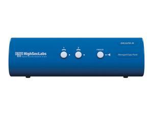 Kramer DK22PD-N HighSecLabs Dual Head 2-Port 4K30 UHD DVI-I and DisplayPort KVM Switch