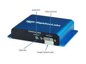Kramer FV11D-3 HighSecLabs Secure 1-Port DVI-I Isolator