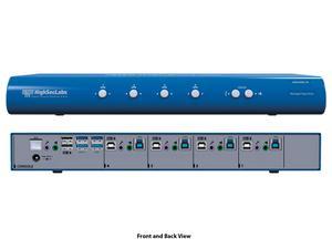 Kramer SM40NU-N HighSecLabs 4-Port KM Switch with USB 3.0 Port