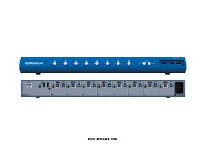 Kramer SM80NU-N HighSecLabs 8-Port KM Switch with USB 3.0 Port