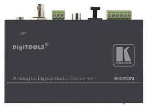 Kramer 6420N Balanced Stereo Audio to Digital Audio Format Converter