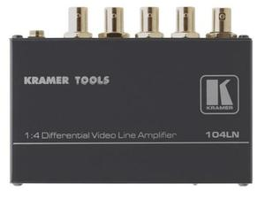 Kramer 104LN 1x4 Composite Video Differential Line Amplifier