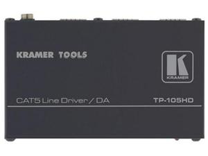 Kramer TP-105HD-b 1x2 Twisted Pair Line Driver and Distribution Amplifier