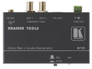 Kramer 810 Composite Video and s-Video Color Bar/Audio Tone Generator