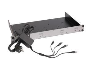 KVM-TEC RMK-FN Rack Mounting Kit with Faceplate and Power Supply For KVM-extender series SVX/MVX