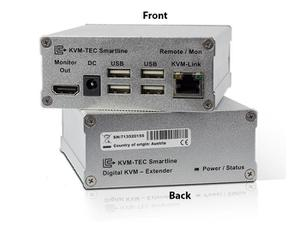 KVM-TEC SVX1R Smartline HDMI/DVI/USB 2.0 KVM Extender (Receiver)