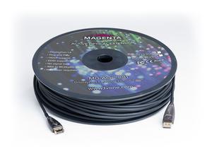 Magenta Research MG-AOC-882-50 164ft/50m DisplayPort 1.4 Active Plenum Optical Cable