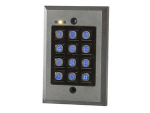 NTI e-ack-vws Single Relay Output Vandal Resistant and Weatherproof Access Control Digital Keypads