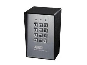 NTI e-ack-vwt-p Three Relay Outputs Vandal Resistant and Weatherproof Access Control Digital Keypads/Powered