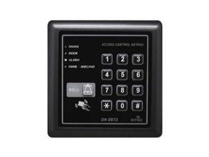 NTI e-ackr-wdb-p Weatherproof RFID Access Control Keypad/Dual w Bell Relay Outputs/Powered