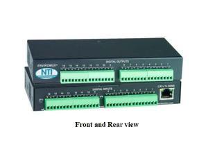 NTI E-DI16DO16 Digital Input/Output Expander (Open-Collector Outputs)