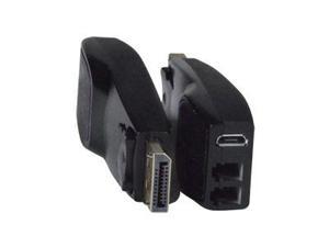 NTI st-2fodp12-lc100m 4K DisplayPort 1.2 Extender (Transmitter/Receiver) Set via Two LC Multimode Fiber Optic Cables