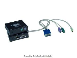 NTI st-c5kvma-l-600 VGA PS/2 KVM Extender (Transmitter) with Audio via CATx to 600ft