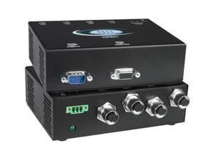NTI vopex-m12v-4 4-Port VGA Splitter/Extender via CATx w M12/600ft