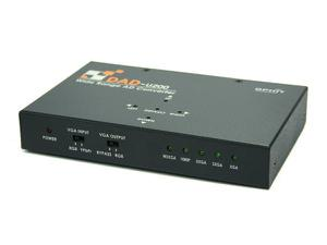 Ophit DAD-U200 VGA to DVI converter with Dual output/1080p/1920x1200
