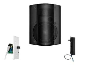 OWI AMP-CAT602-1B-1BTVC One Surface Mount Amplified Speaker with Bluetooth Volume Control/Black