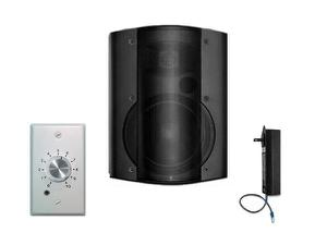 OWI AMP-CAT602-1B-1SVC One Surface Mount Amplified Speaker with Volume Control/Black